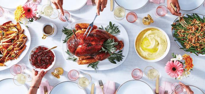 Martha & Marley Spoon 2017 Thanksgiving Meal Box Coupon: Save $20!