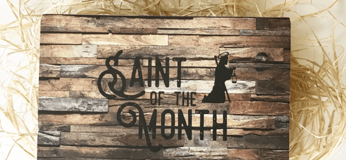 Saint of the Month Box 50% Off Sale!