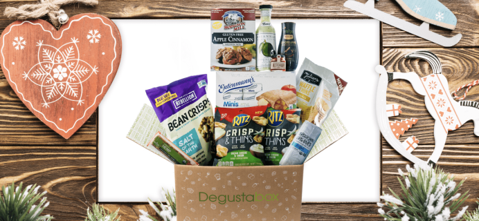 Degustabox December 2018 Spoiler #2 – First Box $12.99 + Free Gift!