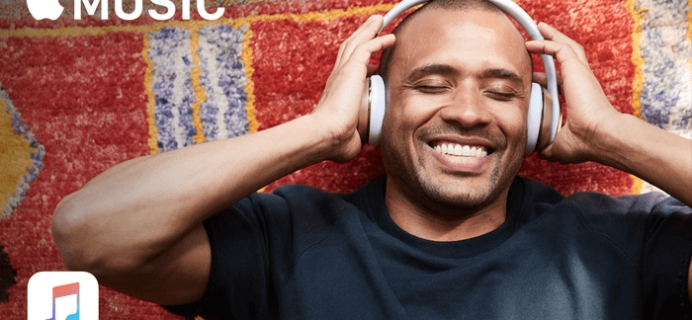 4 Months FREE Apple Music Subscription!