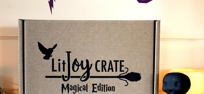 LitJoy Crate Magical Edition Year Three Box Full Spoilers!