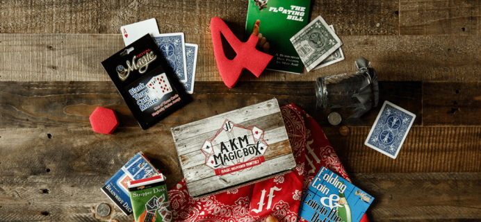 The Magic Subscription Box Cyber Monday 2017 Deal: $25 off 3 month prepay