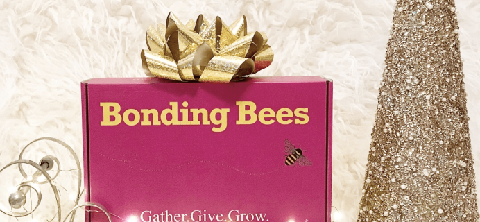Bonding Bees Cyber Monday 2017 Deal: Get Up to 2 FREE Boxes!