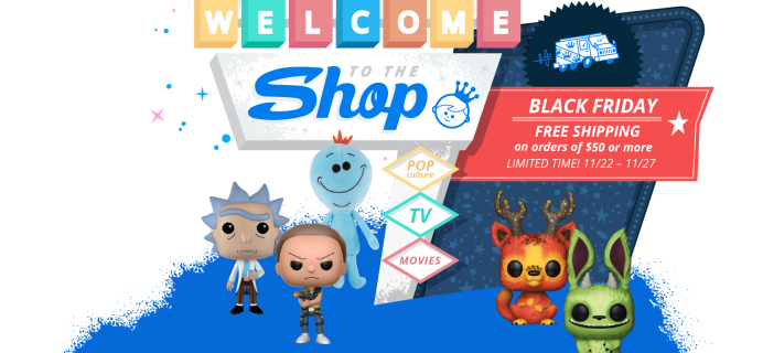 Funko Black Friday Sale: Free Shipping Sitewide on $50+ Starts NOW!