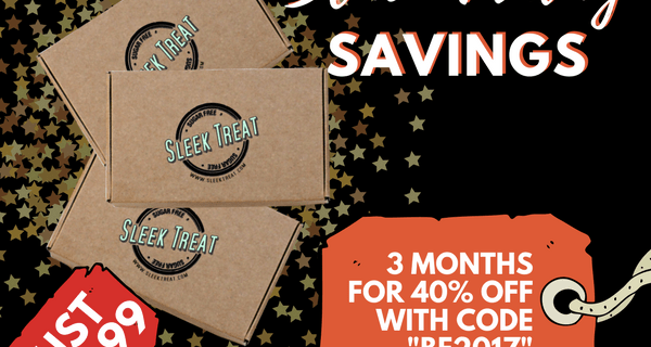 Sleek Treat Black Friday Deal: Save 40% on 3 Month Subscription!