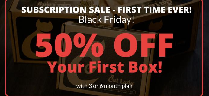 Cat Lady Box Black Friday Deals – 50% Off First Box!