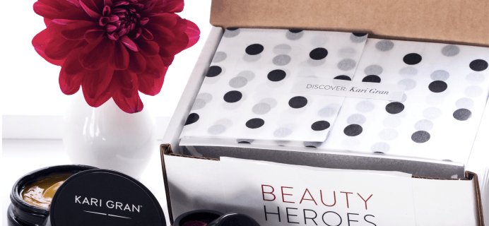 Beauty Heroes Holiday 2017 Beauty Discovery Available Now!