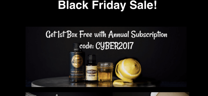 SaloonBox Cocktail Subscription Box Cyber Monday Deal! 50% Off First Month!