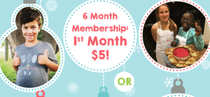 Raddish Kids Cyber Monday Coupon – First Month Free With Subscription!
