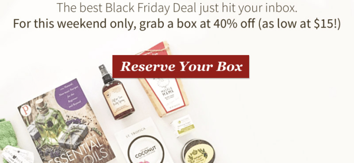 Prospurly Black Friday Deal: 40% Off First Box!