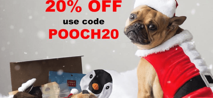 Pooch Perks Cyber Monday Sale: Save 20% Off Subscriptions!