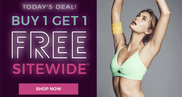 Fabletics Black Friday Weekend Deal: Everything BOGO! + First Outfit Coupon!