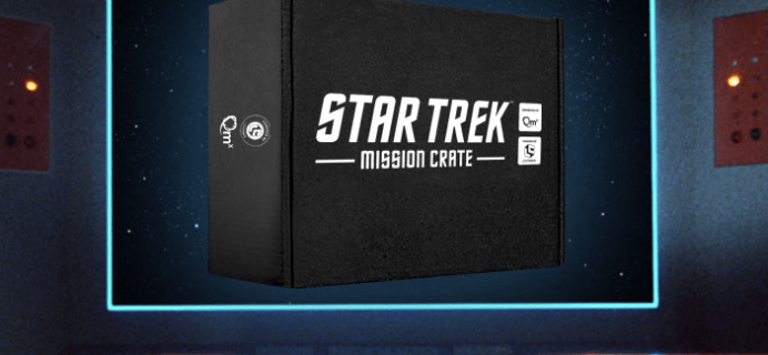 Star Trek: Mission Crate Cyber Monday Coupon – Save 30% + Mystery Bundles for 3+ Month Subscriptions!