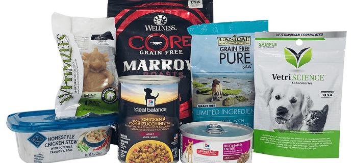 New Amazon Prime FREE After Credit Dog Food & Treat Sample Box!