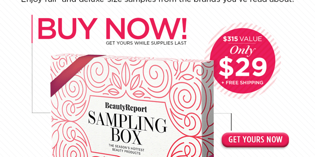 New Beauty Beauty Report Sample Box Available Now!