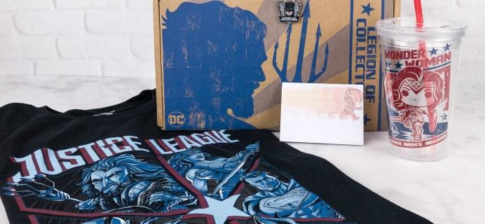 DC Legion of Collectors November 2017 Subscription Box Review