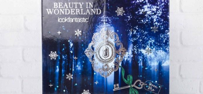 lookfantastic Advent Calendar 2017 Mini Review