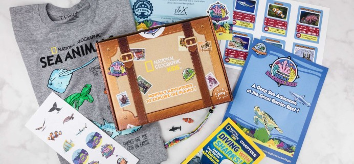 NatGeo Pleybox  Subscription Box Review + Coupon – Great Barrier Reef!