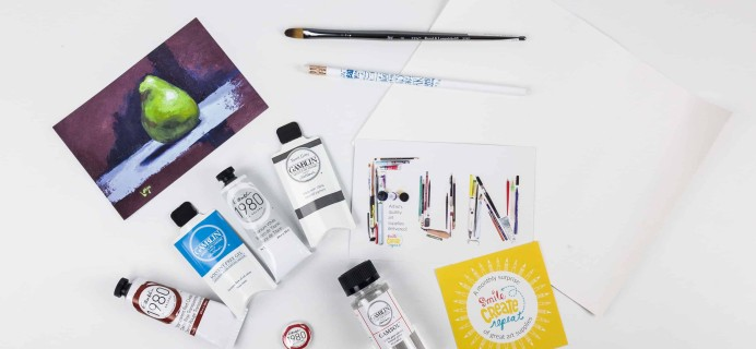 Smile Create Repeat November 2017 Subscription Box Review + Coupon!