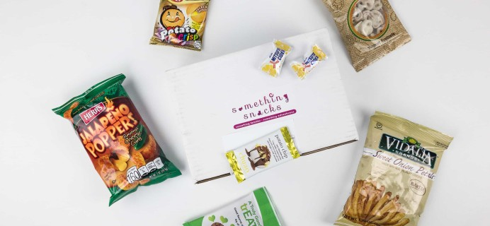 Something Snacks November 2017 Subscription Box Review