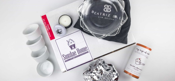 Sundae Home November 2017 Subscription Box Review + Coupon!