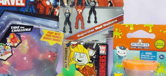 Toy Box Monthly November 2017 Subscription Box Review