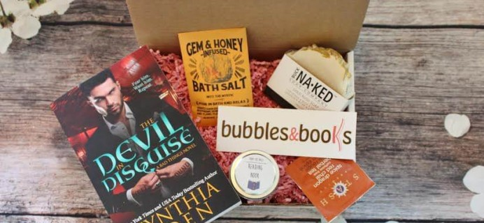 Bubbles & Books Cyber Monday 2017 Deal: Get 25% off your first box!