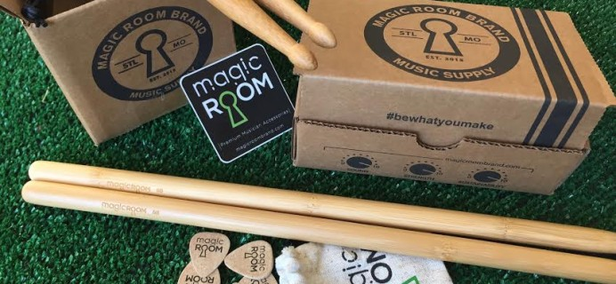 Magic Room Brand Music Supply 2017 Black Friday Coupon: 15% Off First Box!