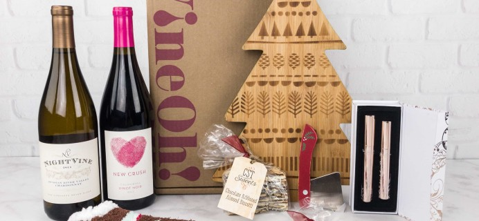 Vine Oh! Holiday Box 2017 Subscription Box Review + Coupon