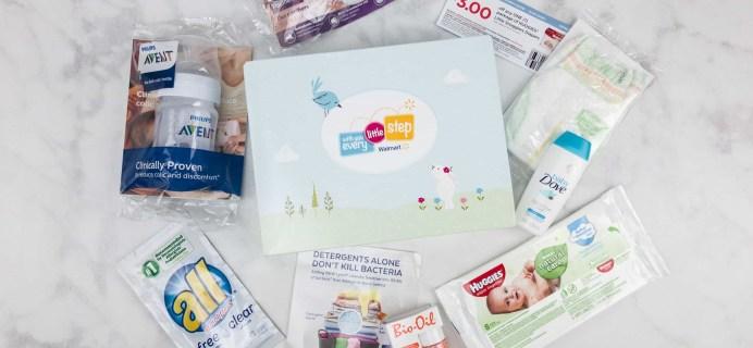 Walmart Baby Box Review: Prenatal Box
