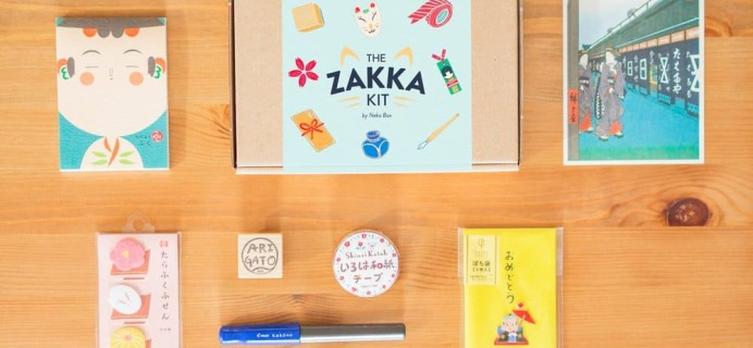 The Zakka Kit by Neko Box Cyber Monday 2017 Deal: Get 20% off 3+ Month Subscriptions!