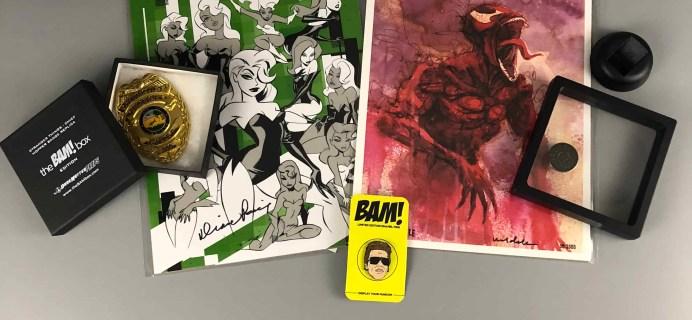 The BAM! Box November 2017 Subscription Box Review & Coupon