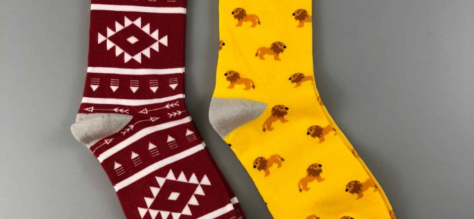 Society Socks December 2017 Subscription Box Review + 50% Off Coupon