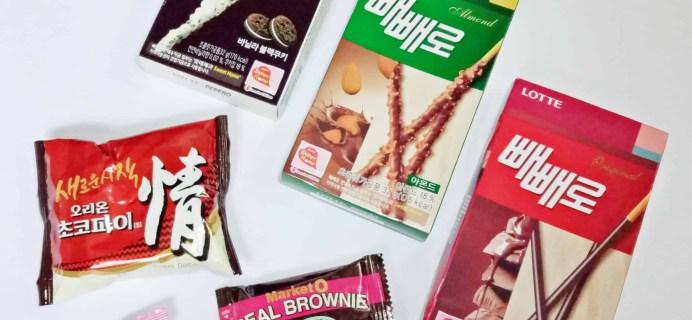 Korean Snack Box October 2017 Subscription Box Review