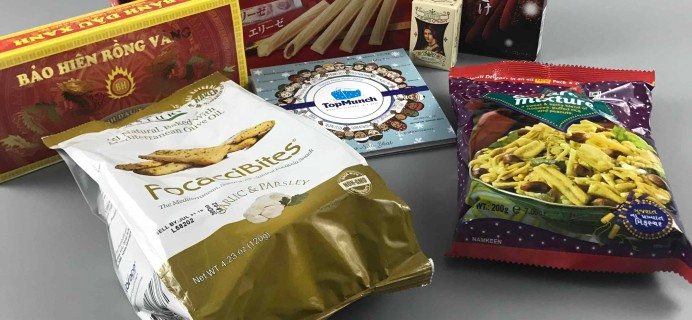 TopMunch December 2017 Subscription Box Review + Coupon