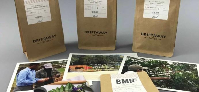 Driftaway Coffee December 2017 Subscription Box Review