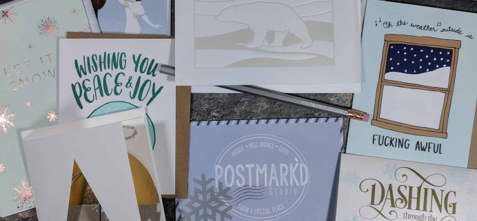 PostBox Subscription Box Review + Coupon – December 2017
