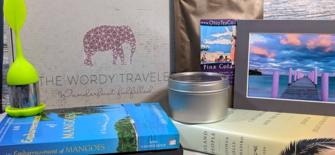 The Wordy Traveler Subscription Box Review + Coupon – Winter 2017
