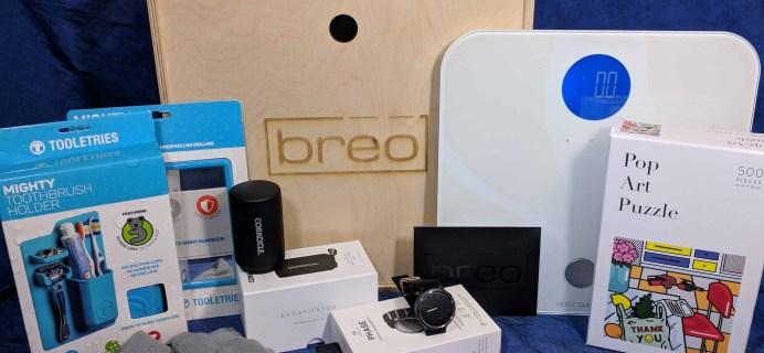 Breo Box Subscription Box Review + Coupon – Winter 2017