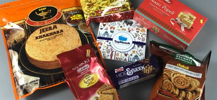 TopMunch October 2017 Subscription Box Review + Coupon – India