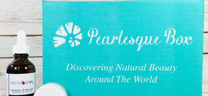 Pearlesque Box December 2017 Subscription Box Review + Coupon