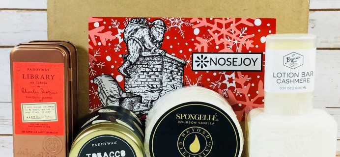 NOSEJOY December 2017 Subscription Box Review + Coupon!
