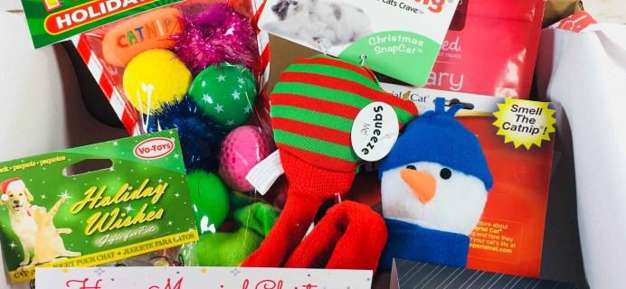 PetGiftBox December 2017 Cat Subscription Box Review + 50% Off Coupon