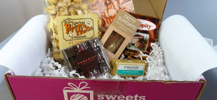 Sweets Gift Box November 2017 Subscription Box Review + Half Off First Box!