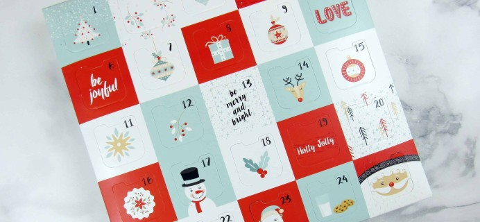 Truffles in Paradise 2017 Advent Calendar Mini Review