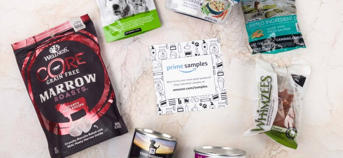 Amazon Prime Sample Box Review – Dog Food and Treats Sample Box December 2017