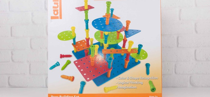 Amazon STEM Toy Club December 2017 Subscription Box Review – 3 to 4 Year Old Box