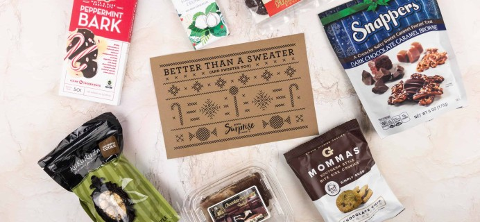 Amazon Prime Surprise Sweets Box Limited Edition Holiday 2017 Box Review