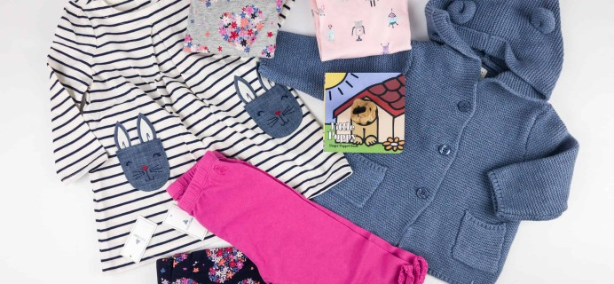 babyGap OutfitBox Winter 2017 Subscription Box Review