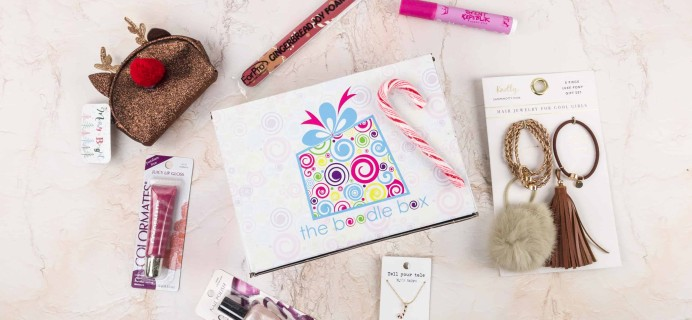 Boodle Box December 2017 Subscription Box Review – Tweens